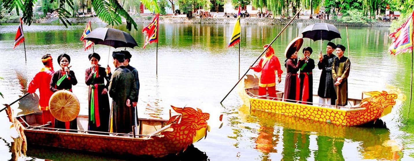 Hội Lim - lễ hội lớn nhất tỉnh Bắc Ninh