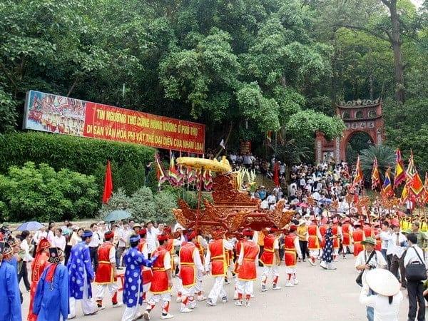 Tìm hiểu về Lễ Hội Đền Hùng - Phú Thọ