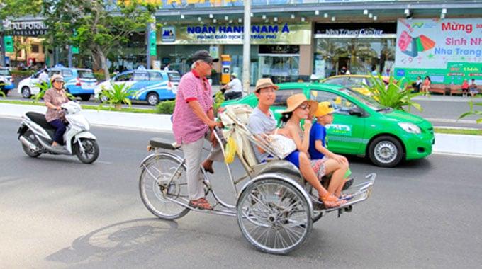 Image result for xích lô Nha Trang