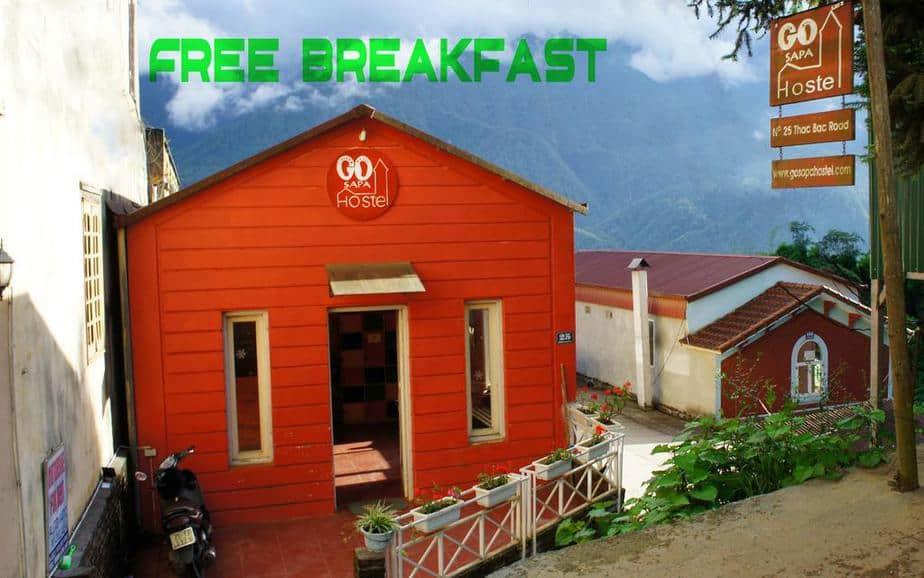 Go Sapa Hostel nằm tại Thác Bạc