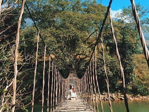Cầu Mây Tả Van Sapa