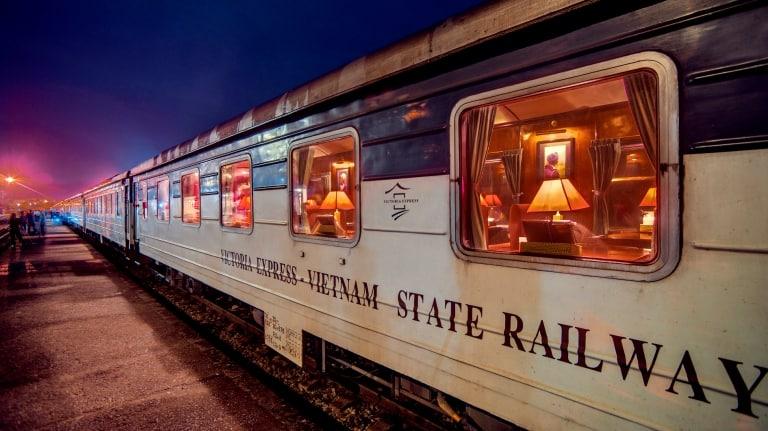 Tàu hỏa là phương tiện đi du lịch Sapa an toàn và tiết kiệm nhất