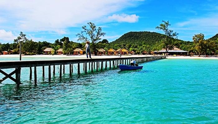 Vẻ đẹp thiên đường của đảo Koh Rong.