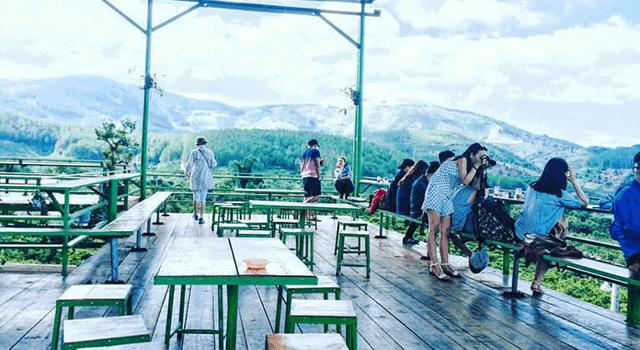NGẮM CẢNH ĐẸP Ở QUÁN CAFE MÊ LINH ĐÀ LẠT
