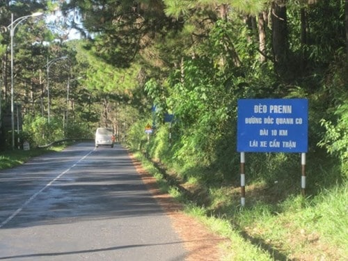 Image result for đường đèo Prenn