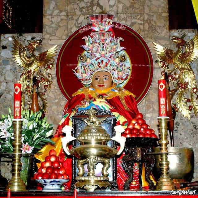 Núi Sam - nơi đặt Miếu (Chùa) bà Chúa Xứ Châu Đốc