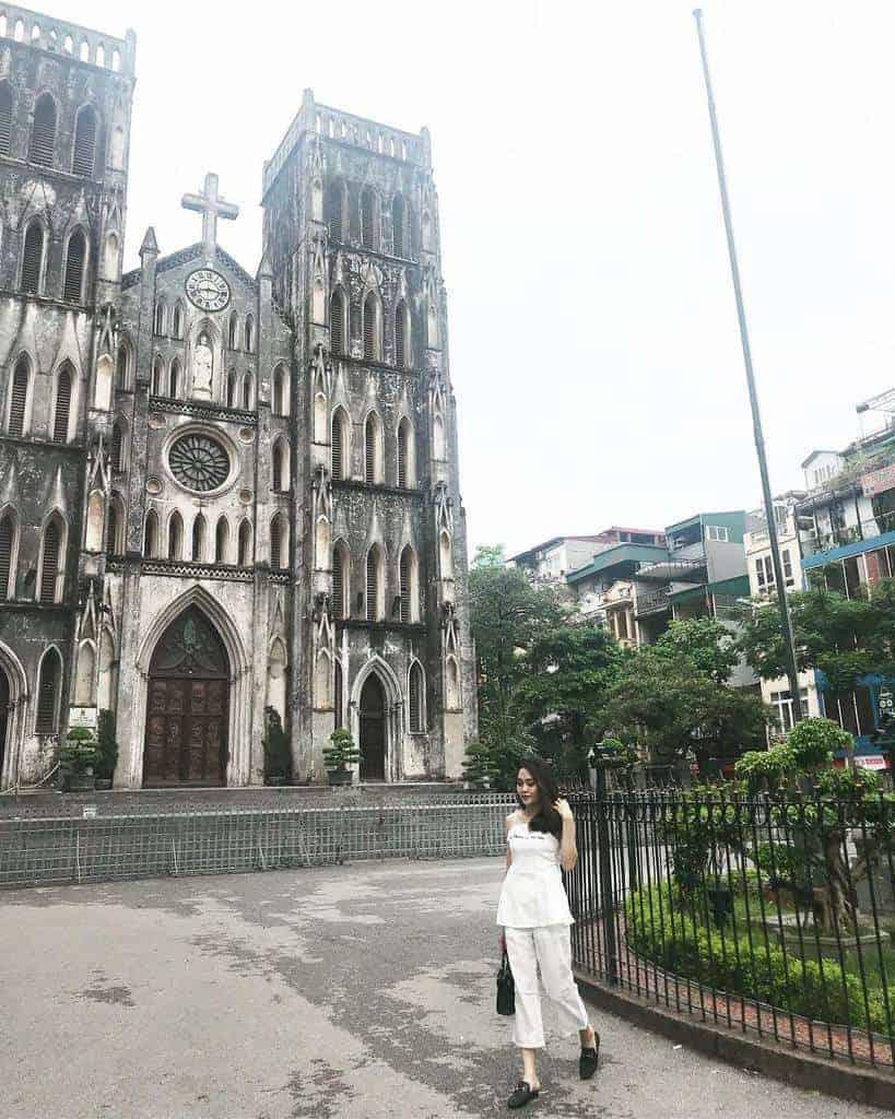 chụp ảnh ngoại cảnh-nhà thờ lớn hà nội