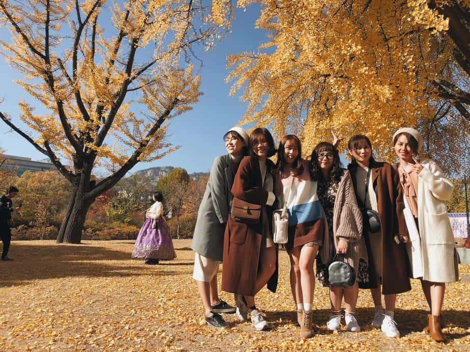 mặc gì khi đi du lịch Hàn Quốc
