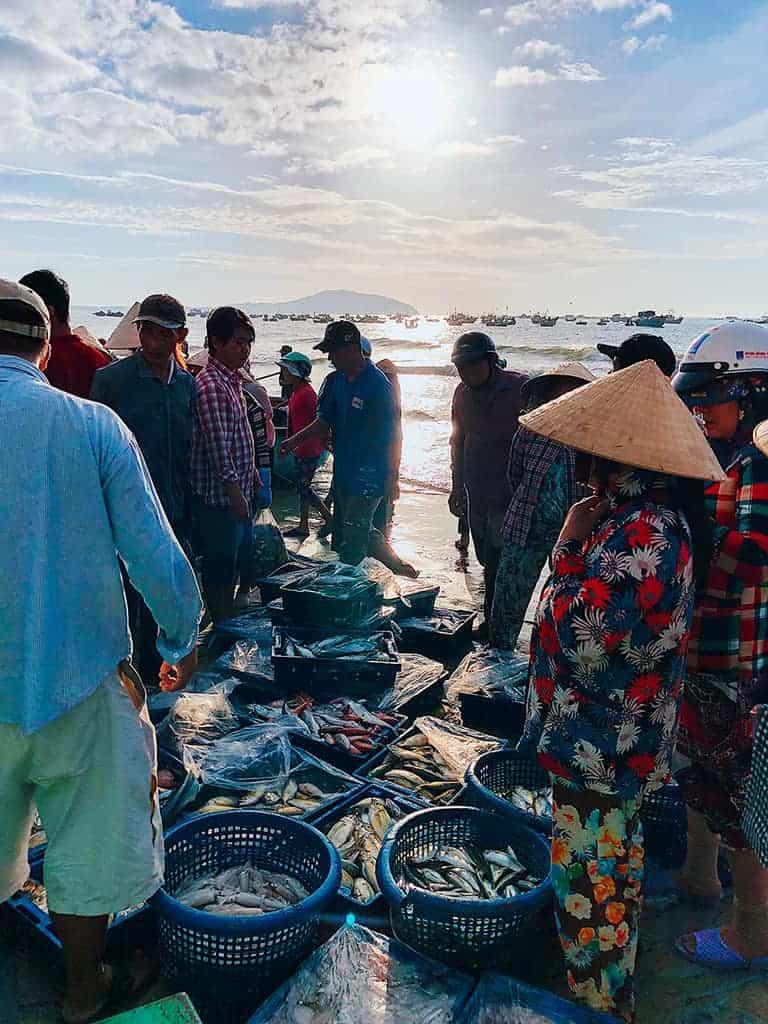 Chợ cá - Làng chài Mũi Né