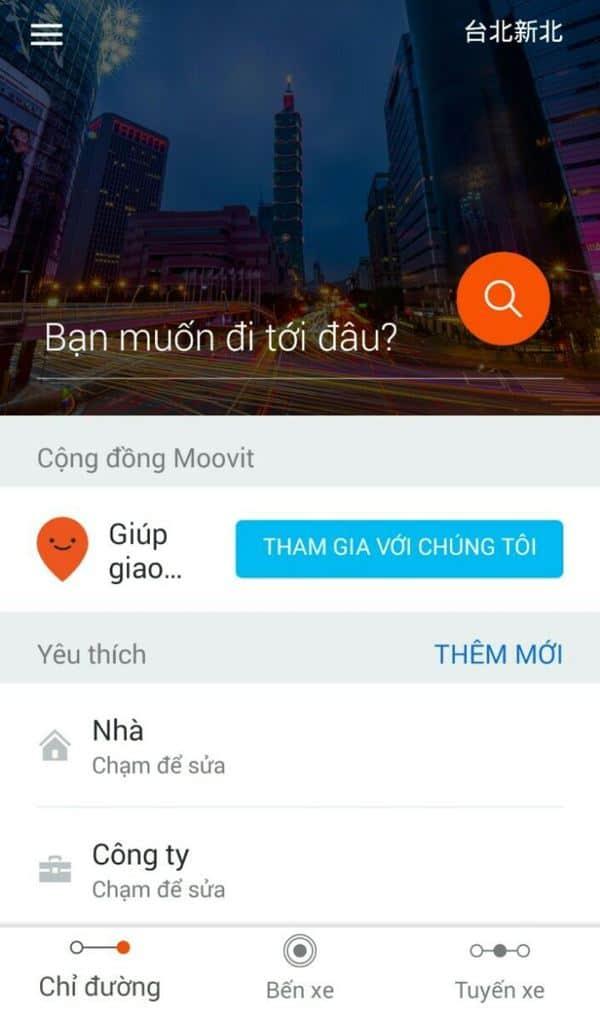 Ứng dụng Movit