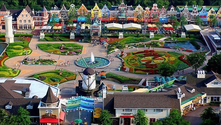 Công viên Everland - Địa điểm thu hút du học sinh Hàn Quốc