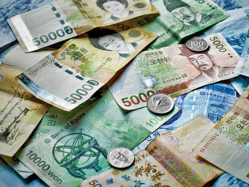 Lịch sử và các mệnh giá tiền Hàn Quốc