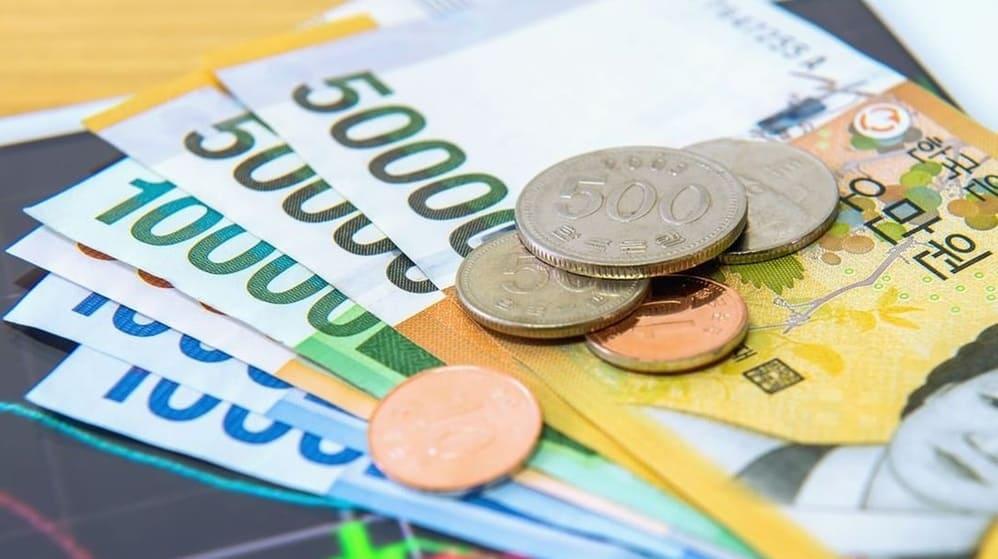 Ngân hàng mua chuyển khoản tiền won tỷ giá như thế nào?
