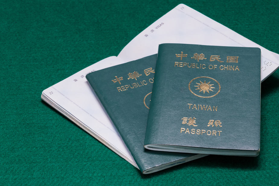 passport đài loan