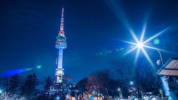 Tháp Namsan - Biểu tượng và niềm tự hào của Hàn Quốc