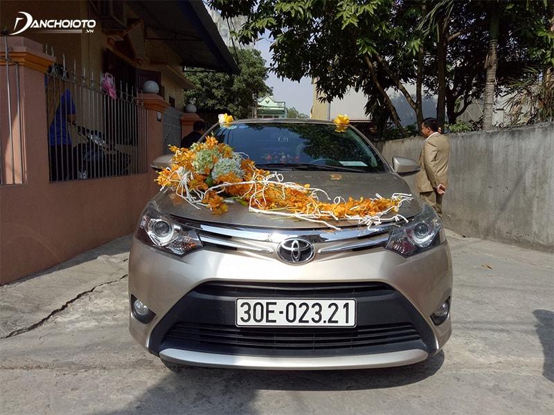 Xe hoa Toyota Vios vừa sang lại có giá rẻ