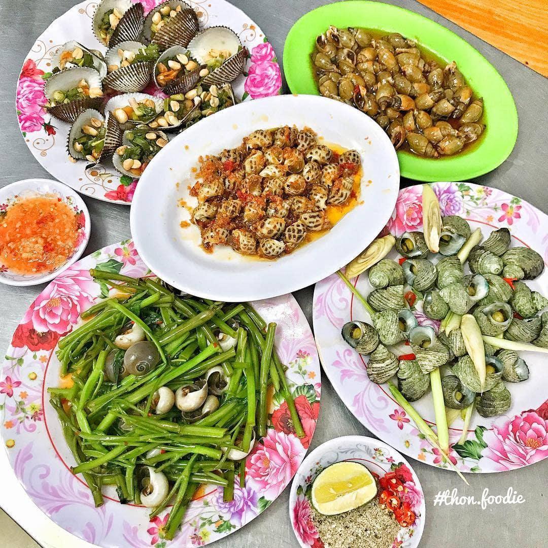 Ăn gì ở Vũng Tàu - Hãy đến quán ốc Hiền quán ốc bình dân nổi tiếng nhất hiện nay