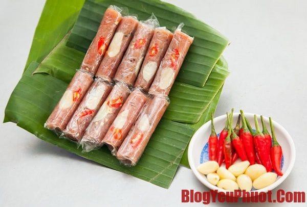 Đặc sản Sầm Sơn, nem chua Thanh Hóa