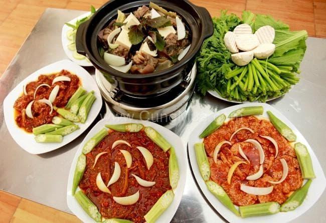 Những món ăn từ thịt dê nổi bật tại quán Nhất Ly