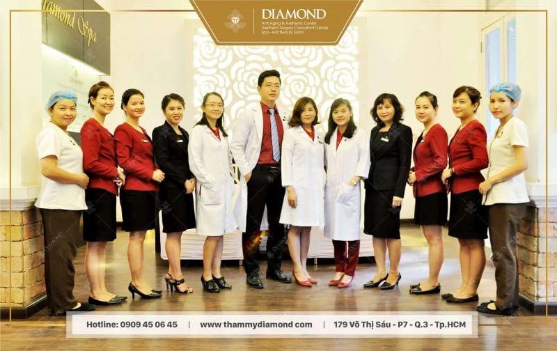 Đội ngũ bác sĩ và chuyên viên giàu kinh nghiệm của Diamond