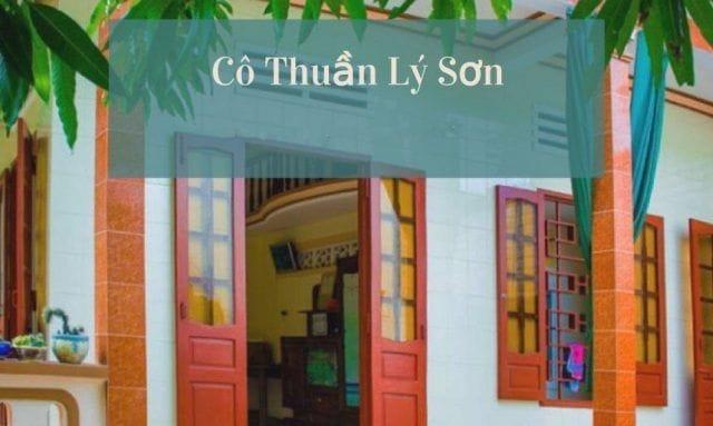 Homestay Lý Sơn Cô Thuần (Ảnh ST)