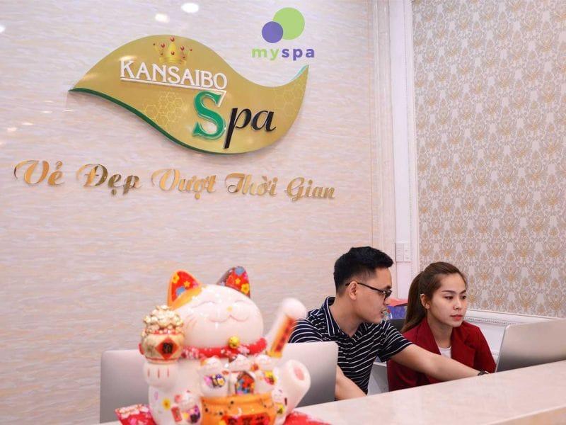 Kansaibo là Spa chuyên điều trị, chăm sóc da cho chị em phụ nữ