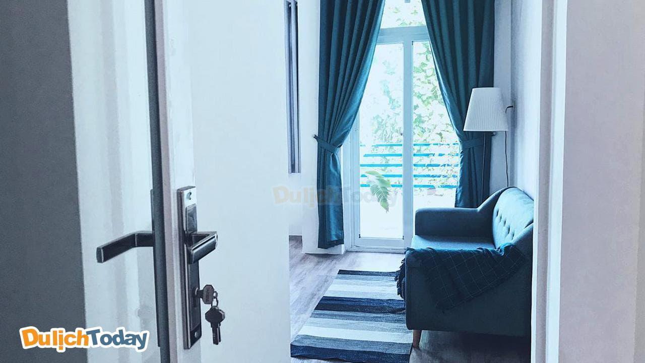 Không gian thiết kế nhiều ánh sáng tự nhiên từ phòng ngủ