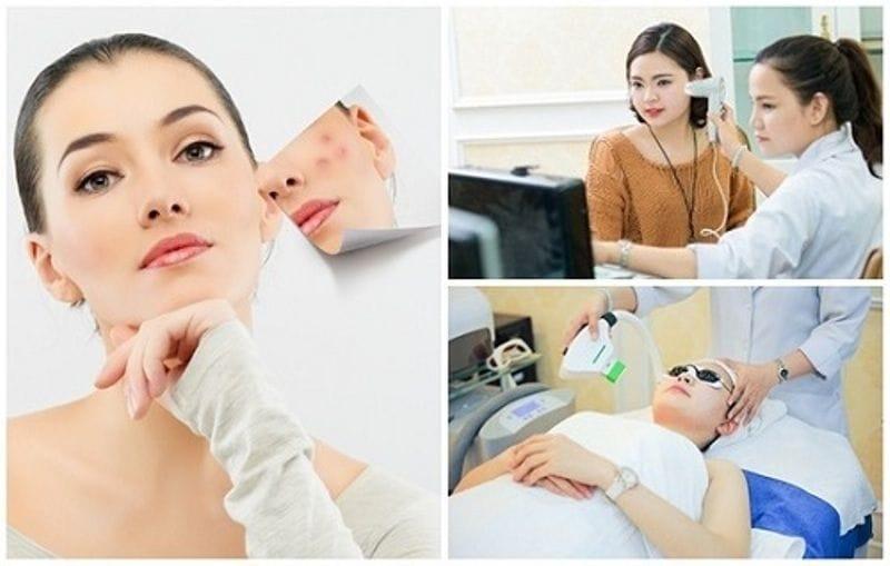 Một số bước trong điều trị nám, tàn nhang tại TMV Đông Á