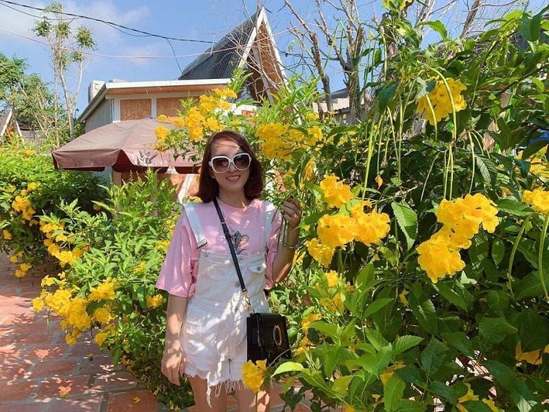 Sunflower homestay Phan Rang có không gian sinh thái rất thú vị