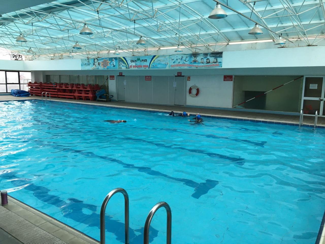 Khám phá danh sách các bể bơi ở Hà Nội rộng – sạch – đẹp – rẻ – an toàn