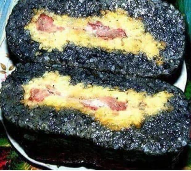 Bánh chưng đen Hà Giang