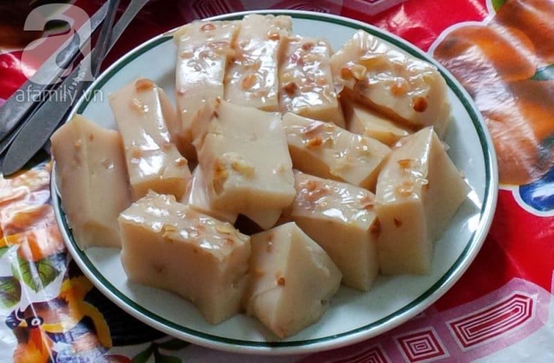 Bánh đúc làng Đồng Quan