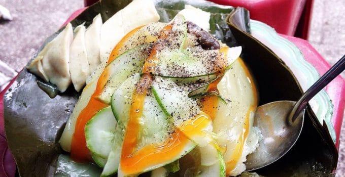 Bánh giò Bến Hiệp tuy mộc mạc, chân phương nhưng hương vị lại rất thơm ngon