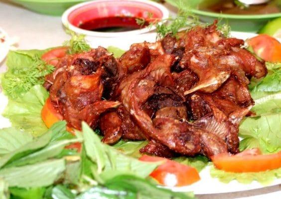 Chuột đồng nướng Vĩnh Long