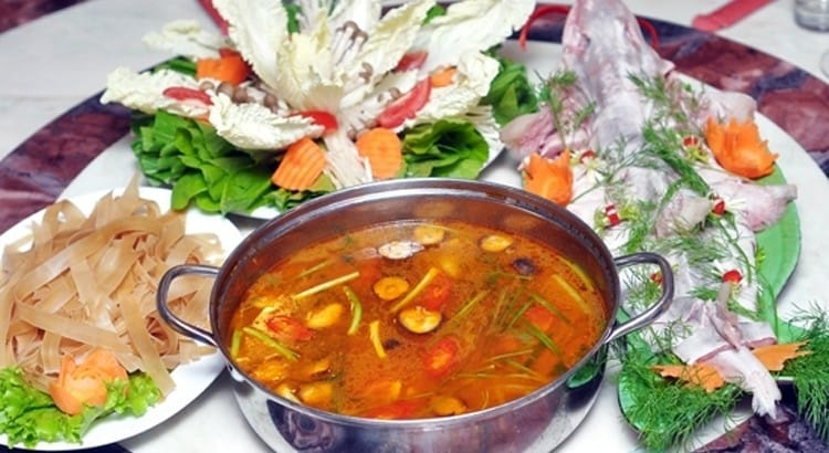 Lẩu cá bớp Bình Thuận