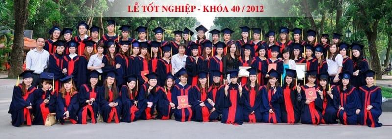 Lễ tốt nghiệp của học viên ở Hand Việt