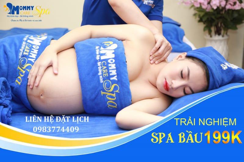 Massage bầu tại Mommy Care