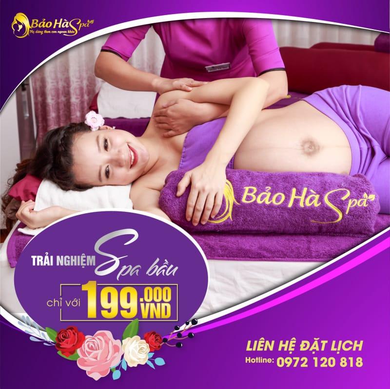 MC Minh Trang trải nghiệm dịch vụ spa bầu, sau sinh tại Bảo Hà Spa