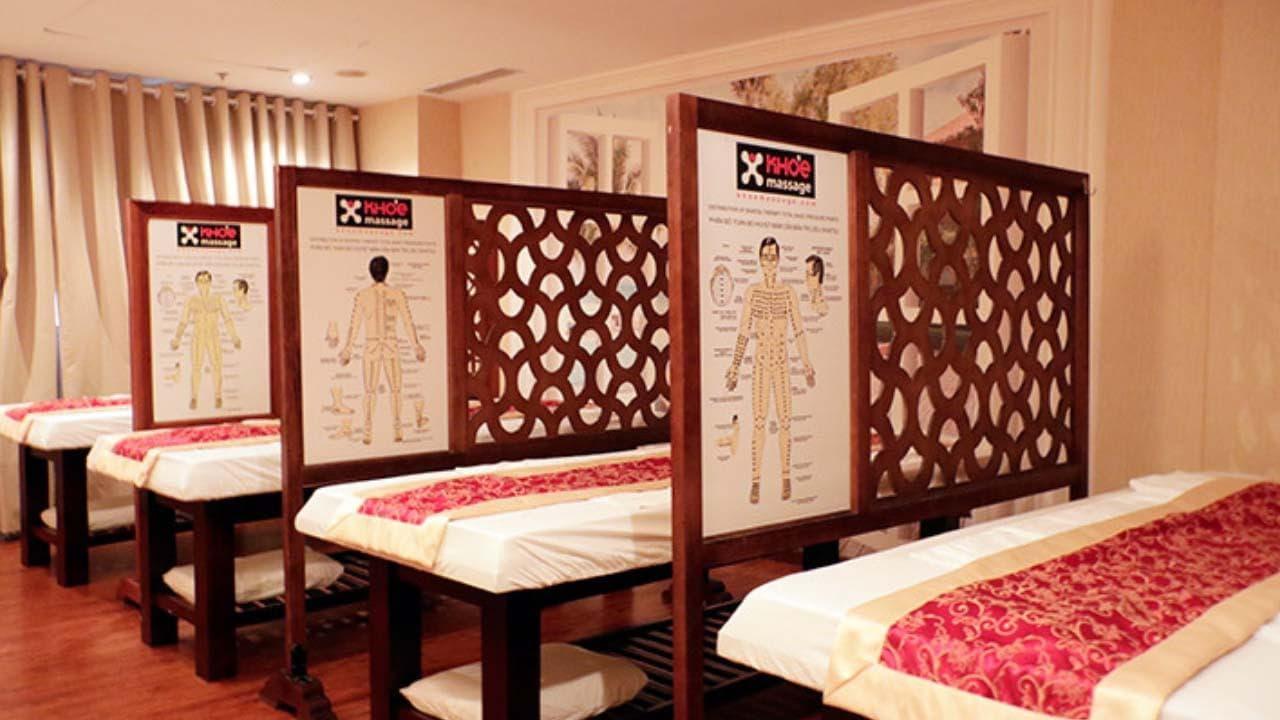 Phòng bấm huyệt theo liệu pháp Shiatsu tại Khỏe massage