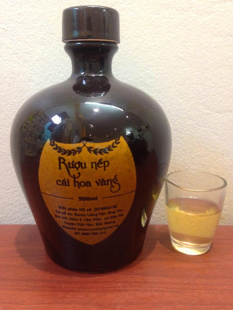 Rượu nếp làng Keo