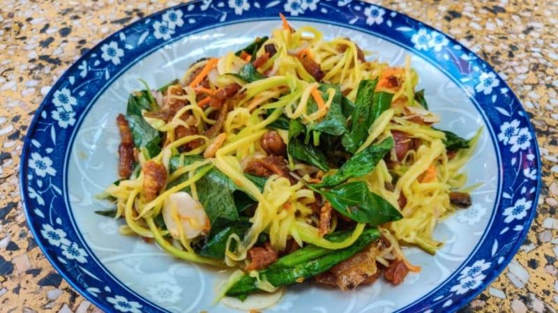 Salad xoài Khmer
