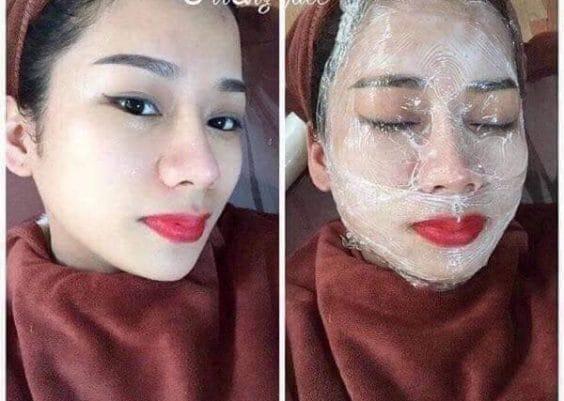 Spa Nhàn Thanh - Ủ trắng mặt huyết yến collagen