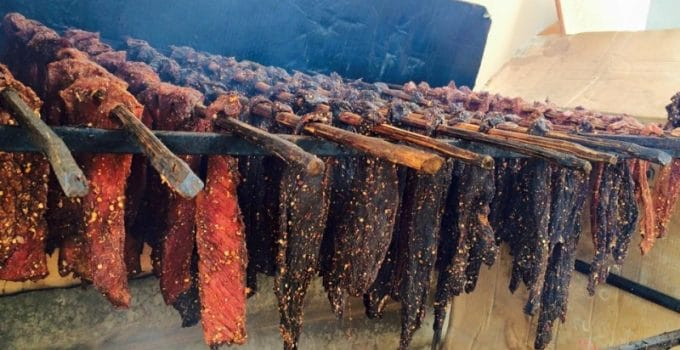Thịt trâu gác bếp của Mộc Châu rất độc đáo và hấp dẫn
