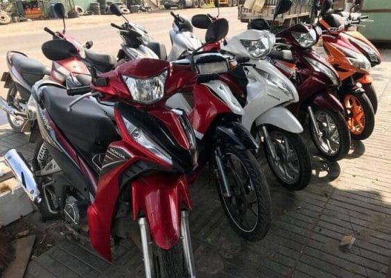 thuê xe máy ở quận tân bình tốt