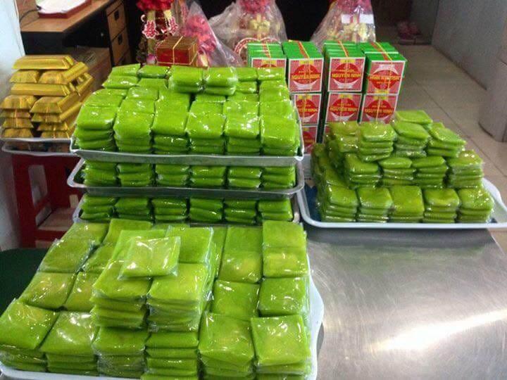 Bánh cốm Hàng Than - Hà Nội