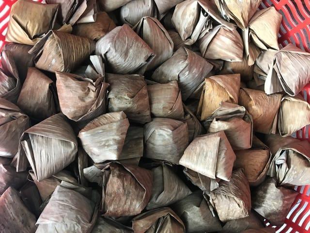Bánh ít lá gai Lý Sơn
