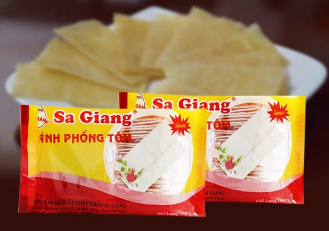 Bánh phồng tôm Sa Giang - Đồng Tháp