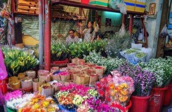 Chợ hoa Quảng An