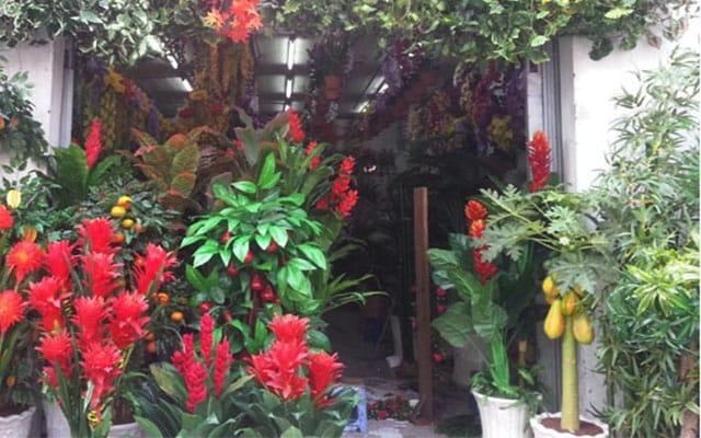 Cửa hàng hoa vải Anh Hiếu