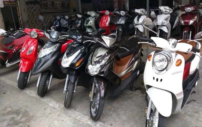 dịch vụ cho thuê xe máy buôn mê thuộc